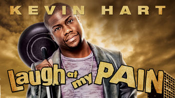 Netflix box art for Kevin Hart: Laugh at My Pain