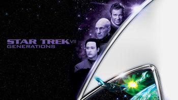 Netflix box art for Star Trek: Generations