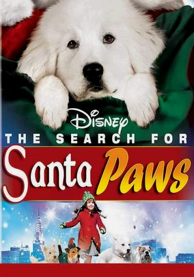 Netflix box art for The Search for Santa Paws