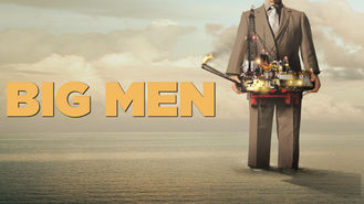 Netflix box art for Big Men