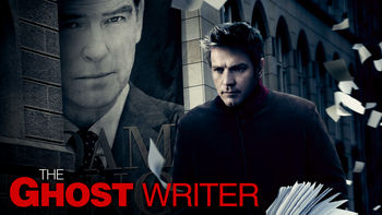 Netflix box art for The Ghost Writer