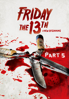Netflix box art for Friday the 13th: Part 5: A New Beginning