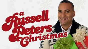 Netflix box art for A Russell Peters Christmas