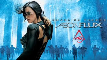 Netflix box art for Aeon Flux