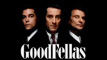 Netflix box art for GoodFellas