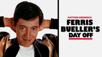 Netflix box art for Ferris Bueller's Day Off