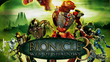 is bionicle 3 web of shadows on netflix usa or anywhere