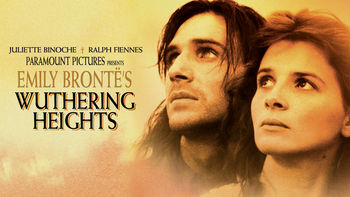 Netflix box art for Emily Bronte's Wuthering Heights