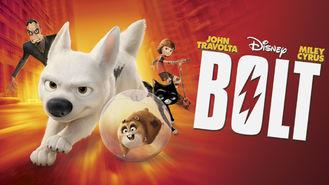 Netflix box art for Bolt