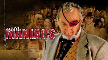 Netflix box art for 2001 Maniacs