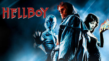 Netflix box art for Hellboy