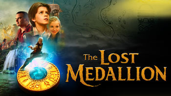 Netflix box art for The Lost Medallion