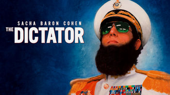 Netflix box art for The Dictator