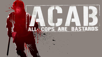 Netflix box art for A.C.A.B.: All Cops Are Bastards