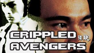 Netflix Box Art for Crippled Avengers