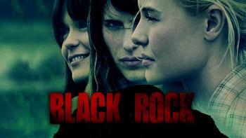 Netflix box art for Black Rock
