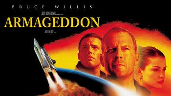 Netflix box art for Armageddon