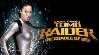Netflix box art for Lara Croft Tomb Raider: The Cradle of Life