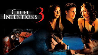 Is Cruel Intentions 3 on Netflix UK (or anywhere else)?
