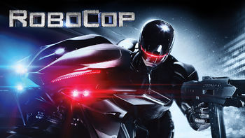 Netflix box art for RoboCop