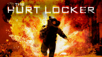 Netflix box art for The Hurt Locker