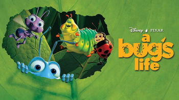Netflix box art for A Bug's Life