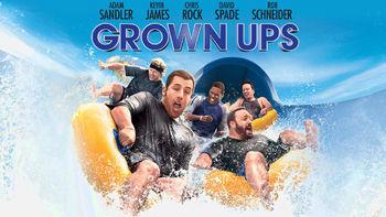 Netflix box art for Grown Ups