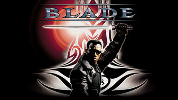 Netflix box art for Blade