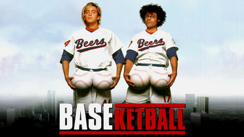 Netflix box art for BASEketball