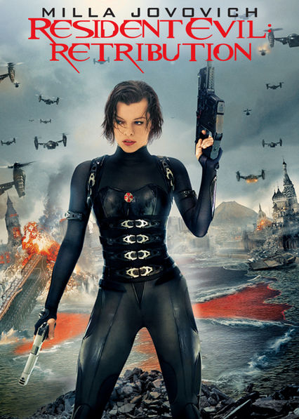 Resident Evil: Retribution Netflix UK (United Kingdom)