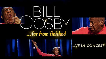 Netflix box art for Bill Cosby: Far From Finished