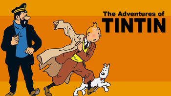Netflix box art for The Adventures of Tintin - Season 3