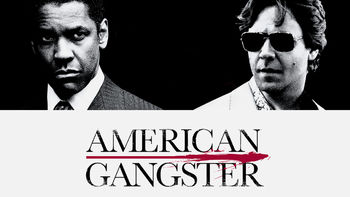 Netflix box art for American Gangster