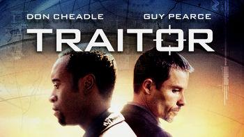 Netflix box art for Traitor