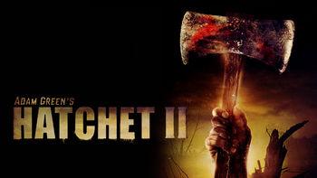 Netflix box art for Hatchet II