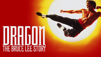 Netflix box art for Dragon: The Bruce Lee Story