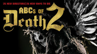 Netflix box art for ABCs of Death 2
