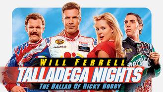Netflix box art for Talladega Nights