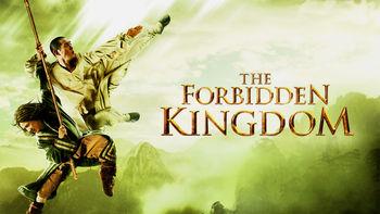 Netflix box art for The Forbidden Kingdom