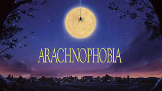 Netflix box art for Arachnophobia