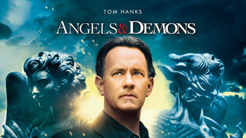 Netflix box art for Angels & Demons
