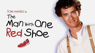 Netflix box art for The Man with One Red Shoe