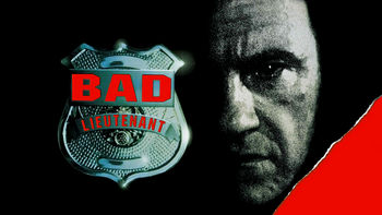 Netflix box art for Bad Lieutenant