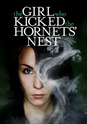 Netflix box art for The Girl Who Kicked the Hornet's Nest