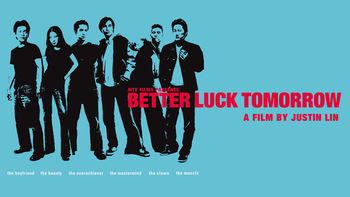 Netflix box art for Better Luck Tomorrow