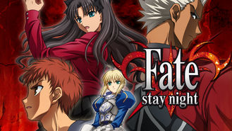Netflix box art for Fate/stay night - Season 1