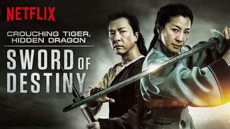 Netflix box art for Crouching Tiger, Hidden Dragon: Sword...