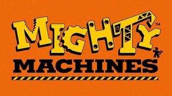Netflix box art for Mighty Machines - Season 3
