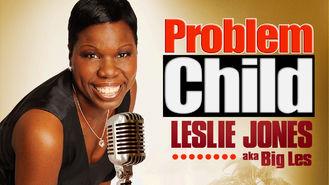 Netflix box art for Problem Child: Leslie Jones