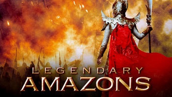 Netflix box art for Legendary Amazons